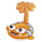 Boia infantil inflável peixinho com fralda e som MOR