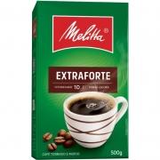 CAFÉ MELITTA TORRADO MOÍDO EXTRA FORTE A VÁCUO 500 GRAMAS