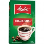 CAFÉ MELITTA TORRADO MOÍDO TRADICIONAL A VÁCUO 500 GRAMAS