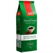 CAFÉ MELITTA TORRADO MOÍDO TRADICIONAL ALMOFADA 1 QUILO