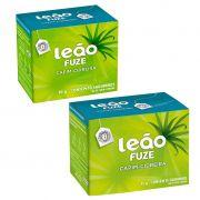 Chá de erva-cidreira caixa com 10 ou 15 sachês envelopados Leão