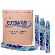 Copo descartável 180 ml caixa c/2.500 transparente Copomais