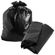 Saco para lixo preto multiuso 200 litros Saquitel pacote c/100