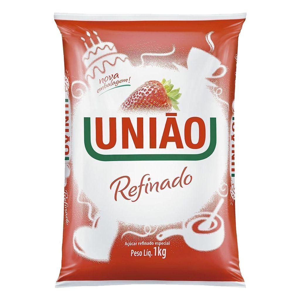 AÇÚCAR 1 KG REFINADO UNIÃO
