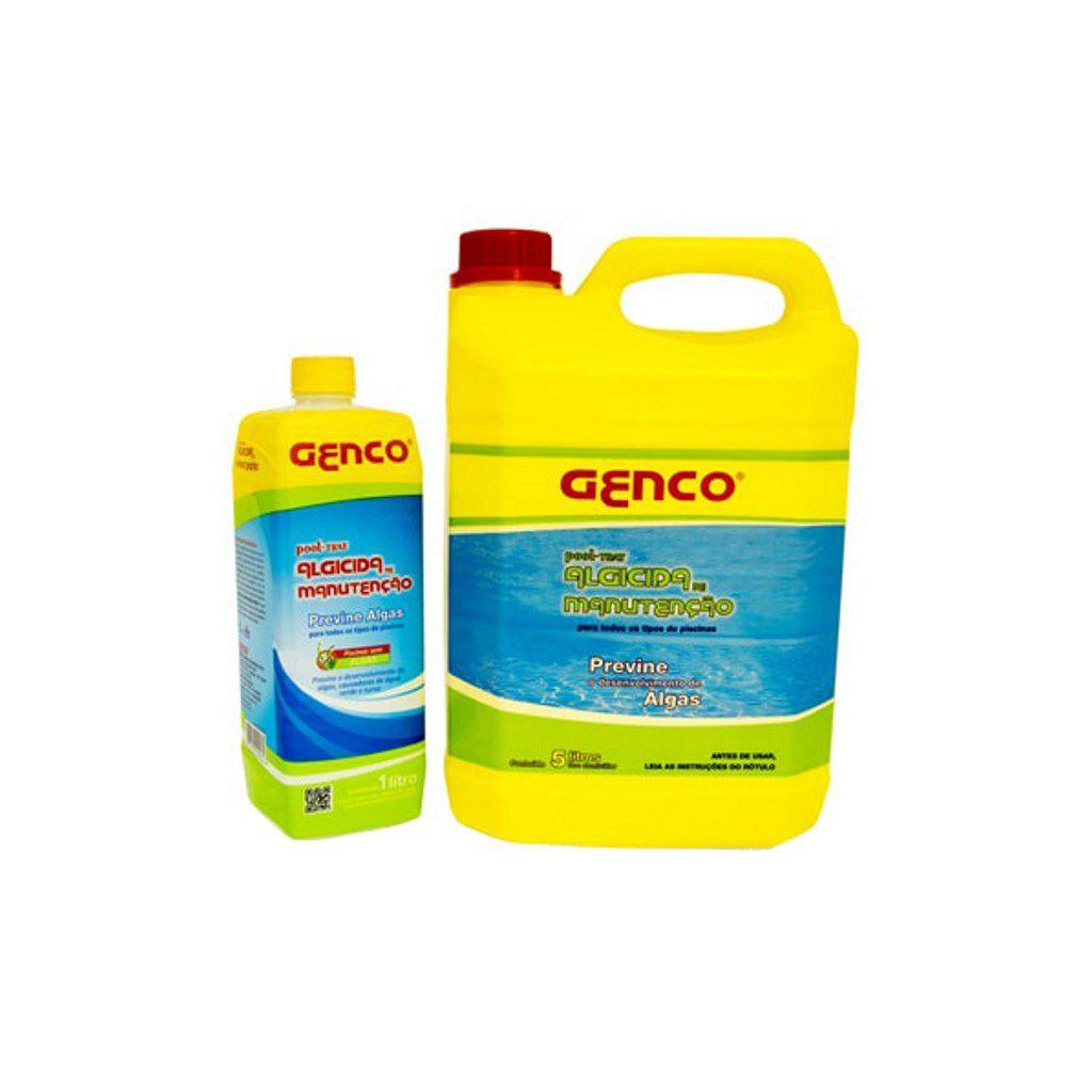 Algicida de manutenção eliminador de algas para piscinas Genfloc