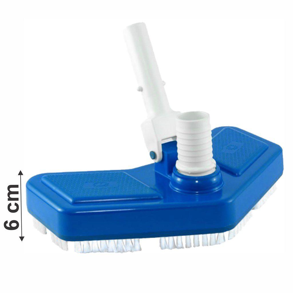 Aspirador piscina asa delta com escovas Cumbiflex