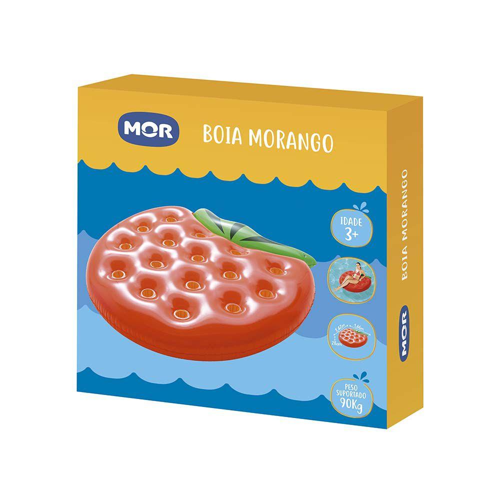 Boia inflável morango grande MOR
