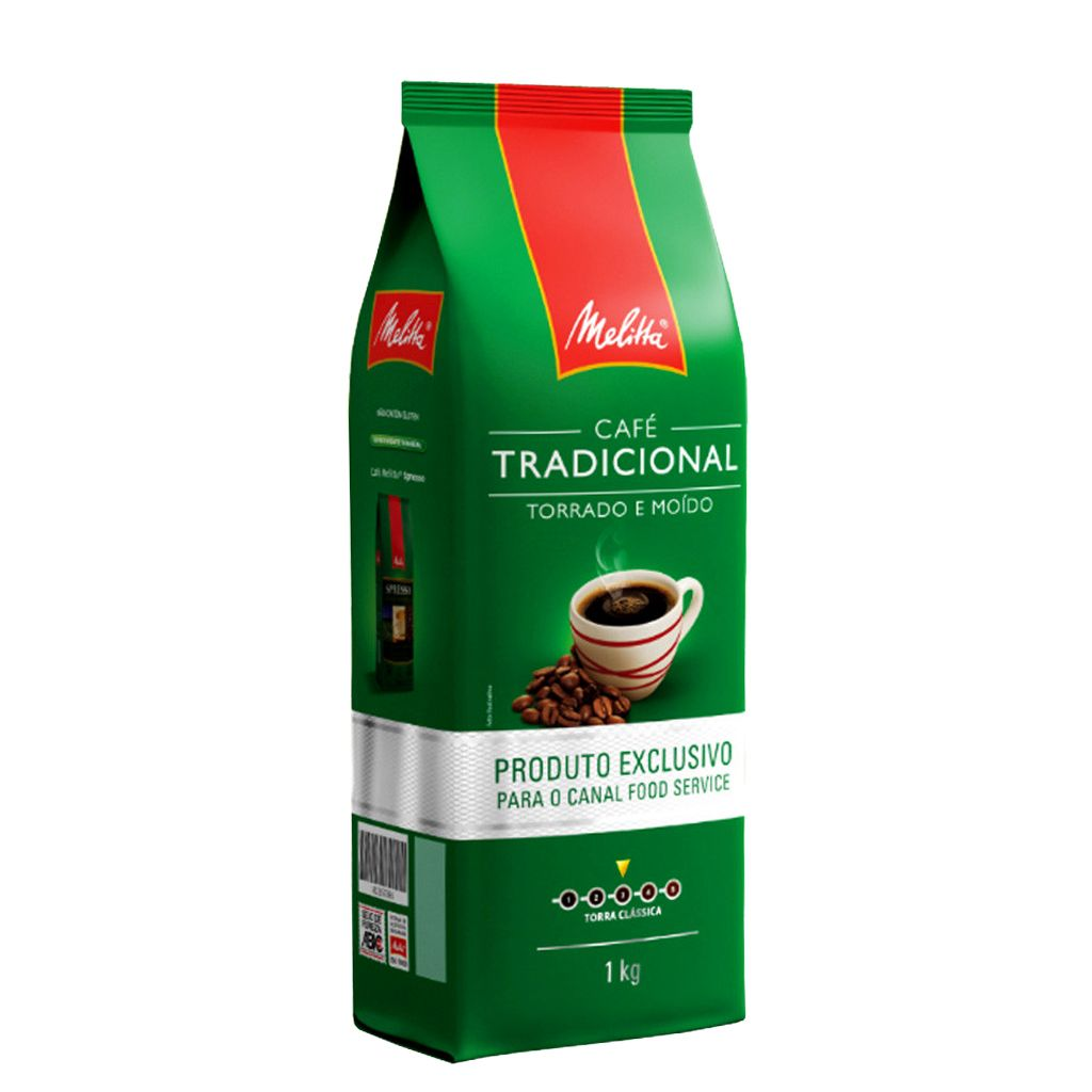 CAFÉ MELITTA TORRADO MOÍDO TRADICIONAL ALMOFADA 1 KG