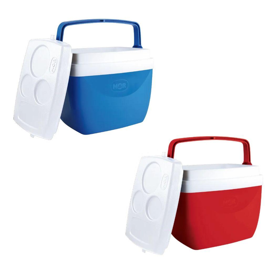 Caixa térmica 12 litros cooler com alça e tampa MOR