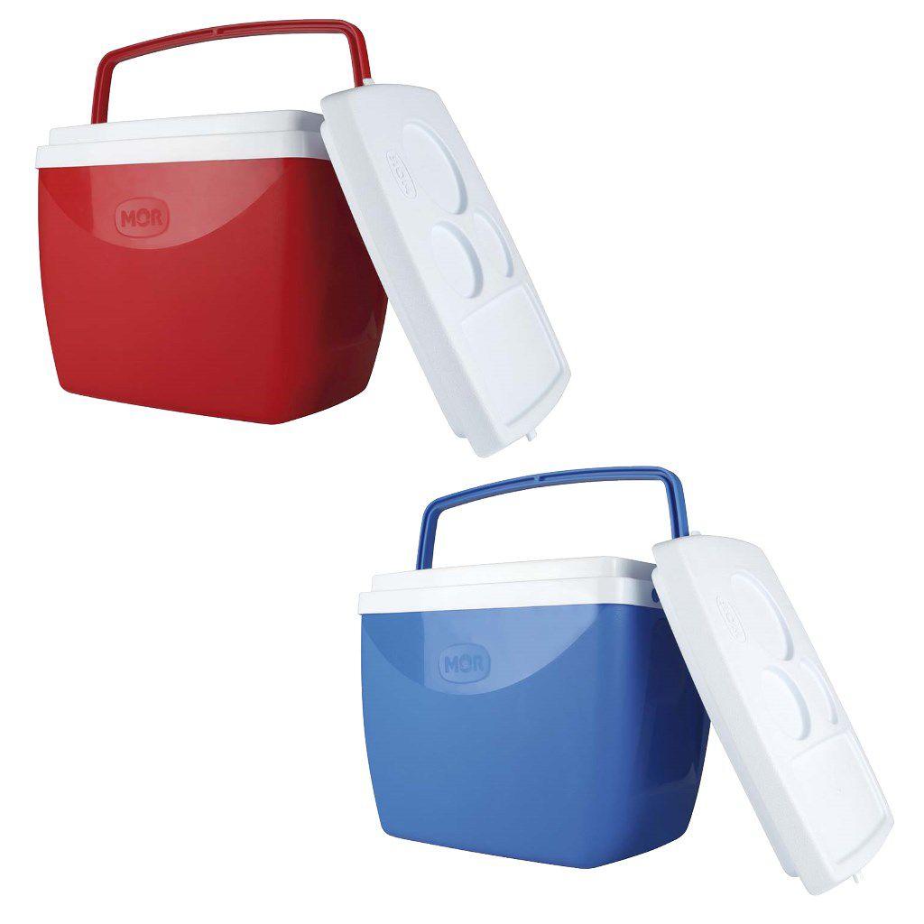 Caixa térmica 18 litros cooler com alça e tampa MOR