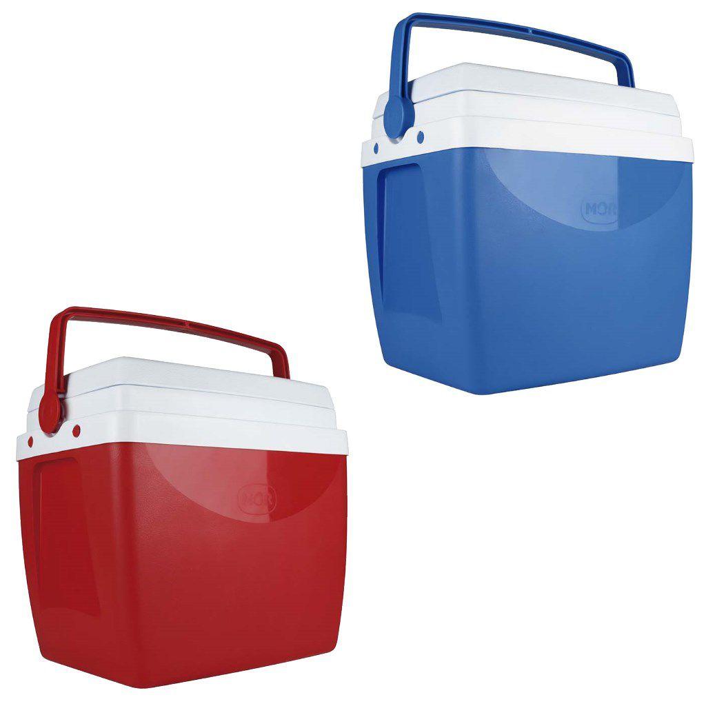 Caixa térmica 26 litros cooler com alça e tampa MOR