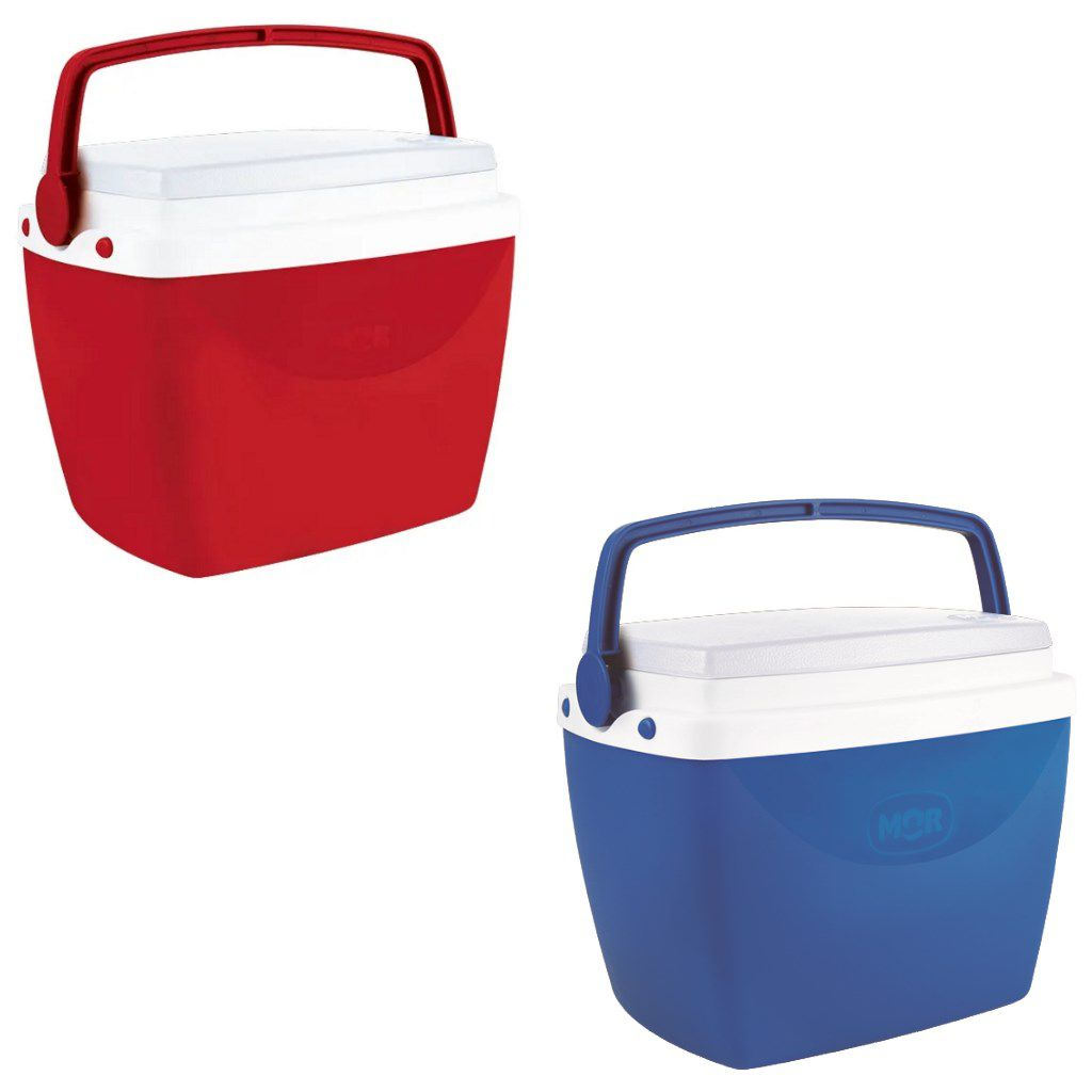 Caixa térmica 6 litros cooler com alça e tampa MOR