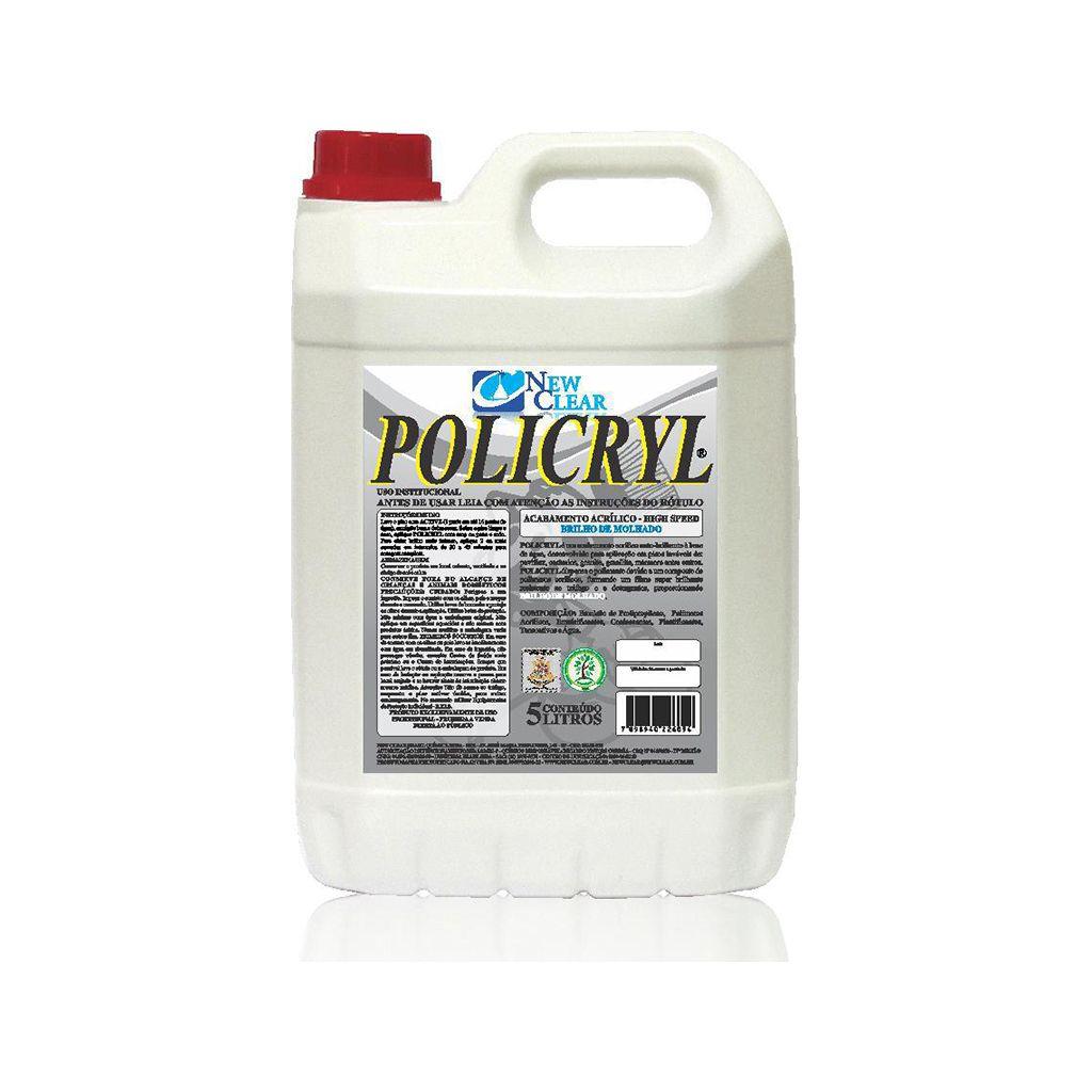 Cera incolor impermeabilizante acrílica 5 litros Policryl