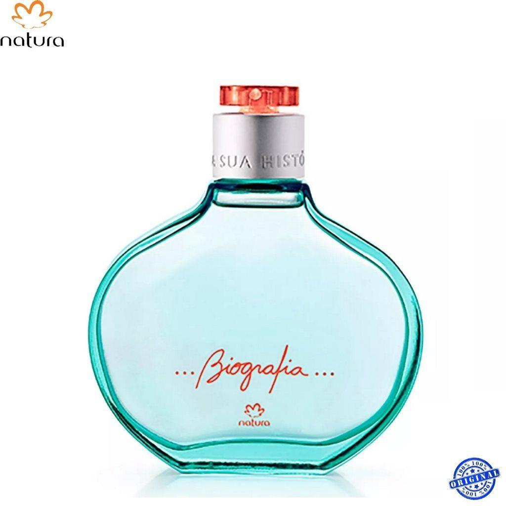 Combo Natura Biografia feminino Perfume + Sabonete líquido