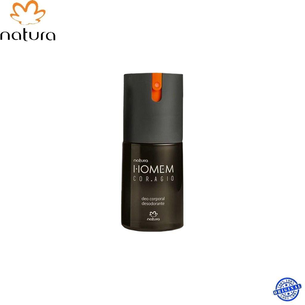 COMBO NATURA HOMEM CORAGIO PERFUME COM DEO COLÔNIA 100 ML