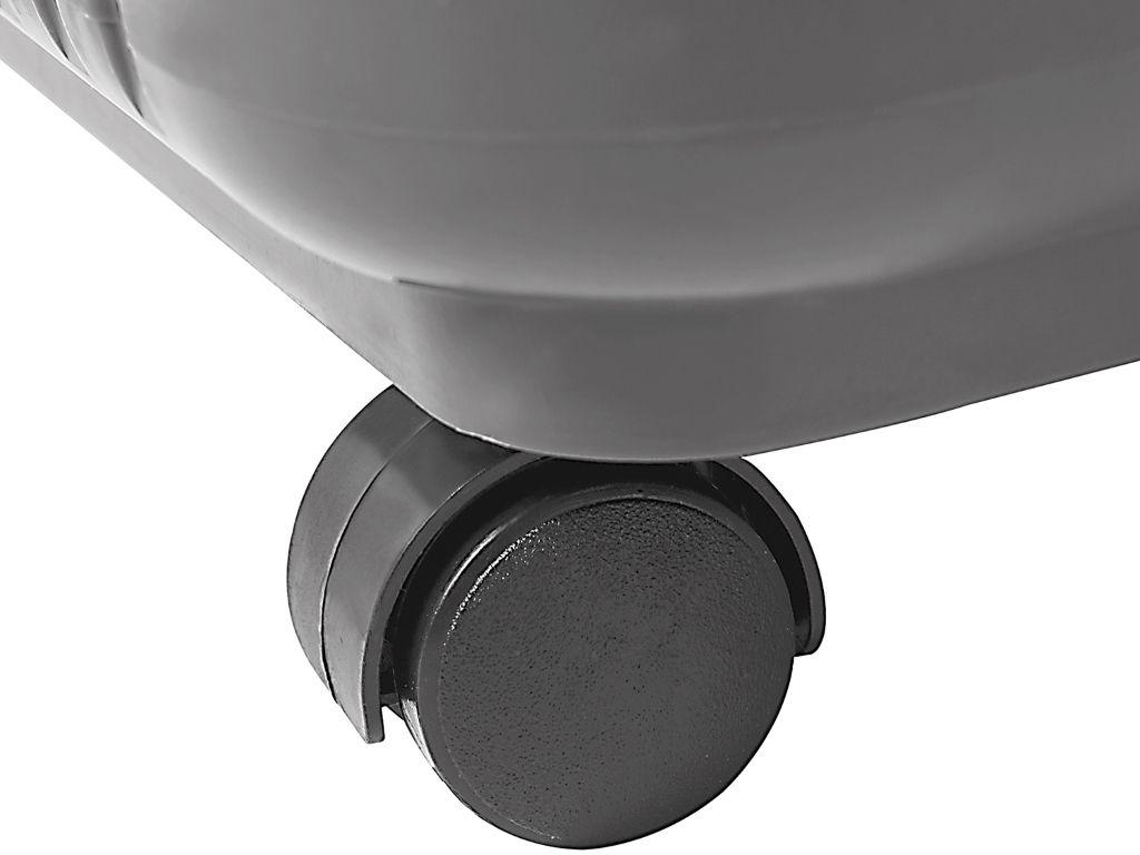 Mop esfregão giratório Bettanin inox com rodas e refil 8 litros