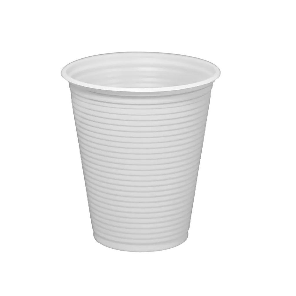 Copo descartável 180 ml caixa c/2.500 branco Altacoppo