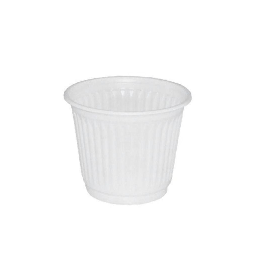 Copo descartável 50 ml pacote c/100 branco Altacoppo