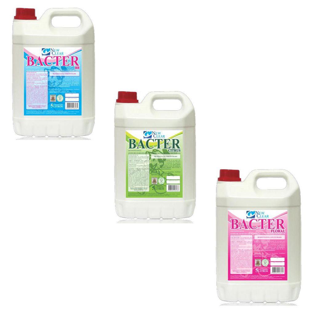 Desinfetante concentrado bactericida 5 litros New Clear