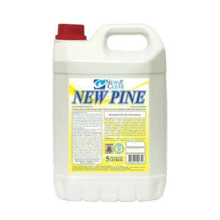 Detergente concentrado desengraxante 5 litros New Clear New Pine