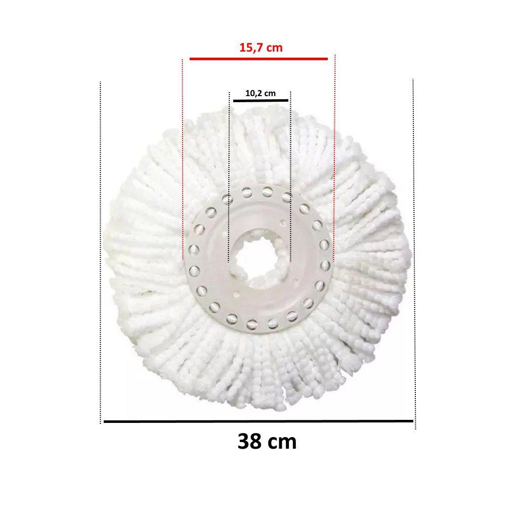 Esfregão MOP refil microfibra Super Pro Bettanin