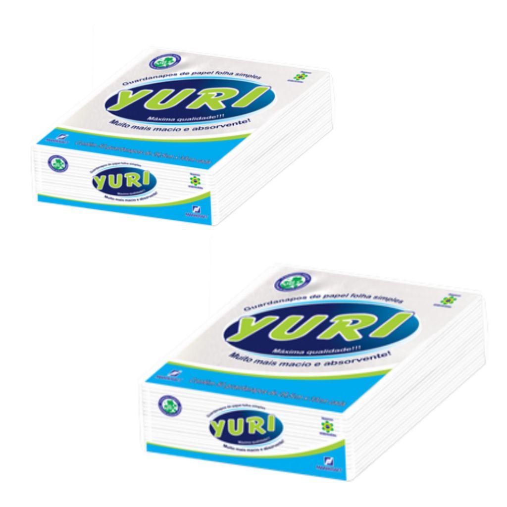 Guardanapo de papel folha simples pacote c/ 50 Yuri