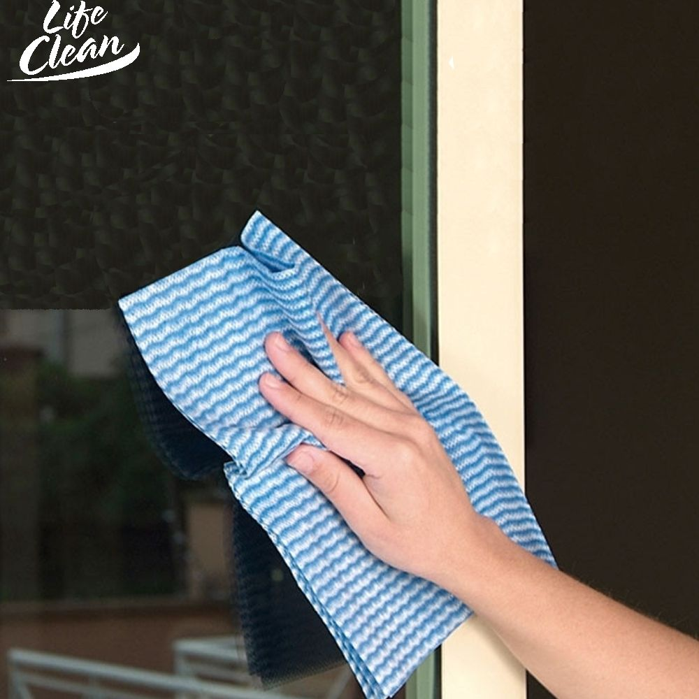PANO MULTIUSO TNT BOBINA PICOTADA 29 CM X 300 M LIFE CLEAN