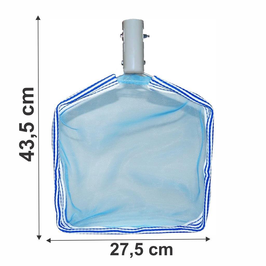 Peneira para limpar piscina metálica comum Cumbiflex