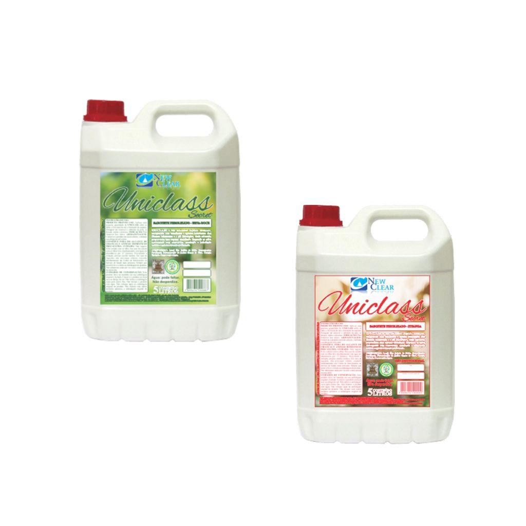 Sabonete líquido perfumado Soapy gel 5 litros Uniclass New Clear