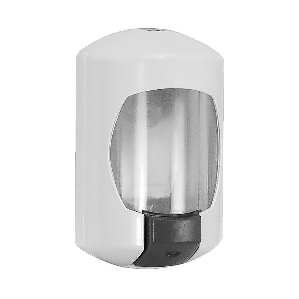 Saboneteira de parede oval em ABS líquidos ou géis com chave JSN
