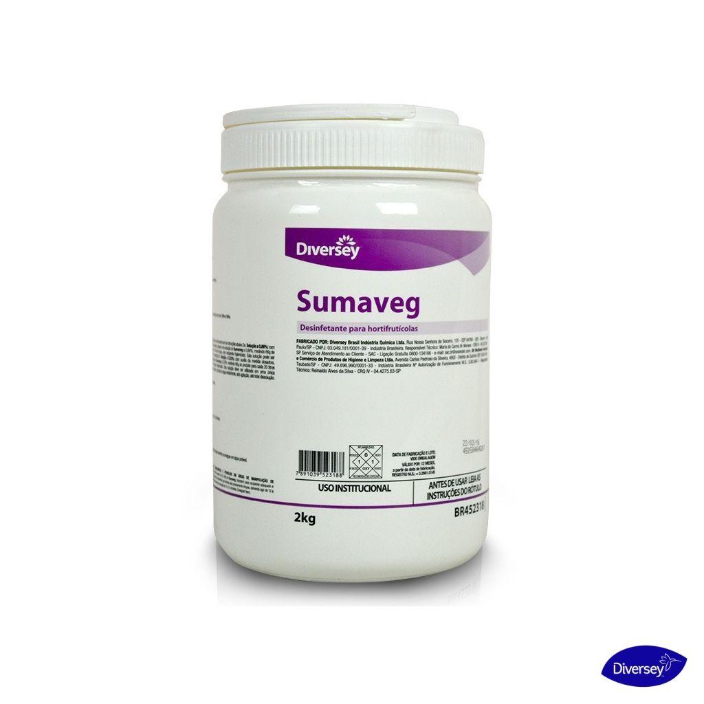 Sumaveg desinfetante para hortifrutícolas 2 kg Diversey