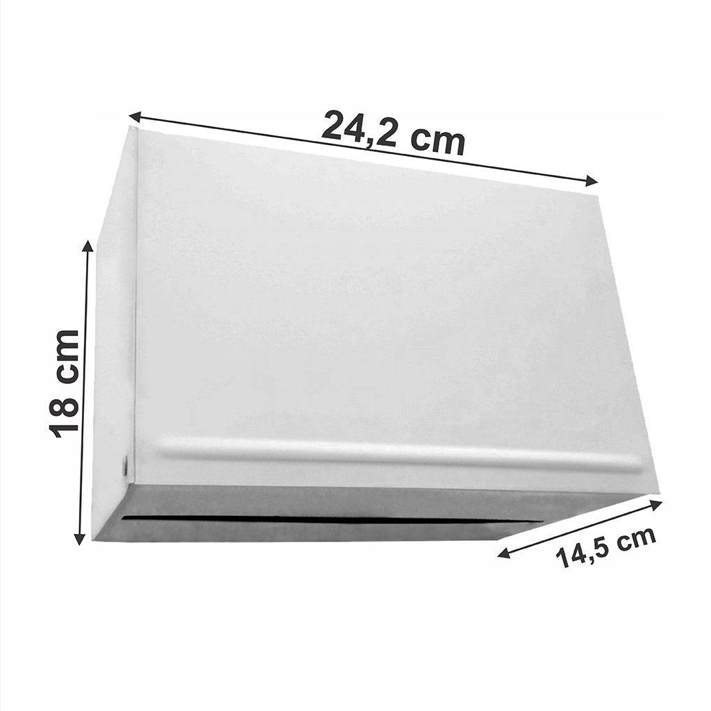 Toalheiro esmaltado interfolha 2 ou 3 dobras - ref. M1e