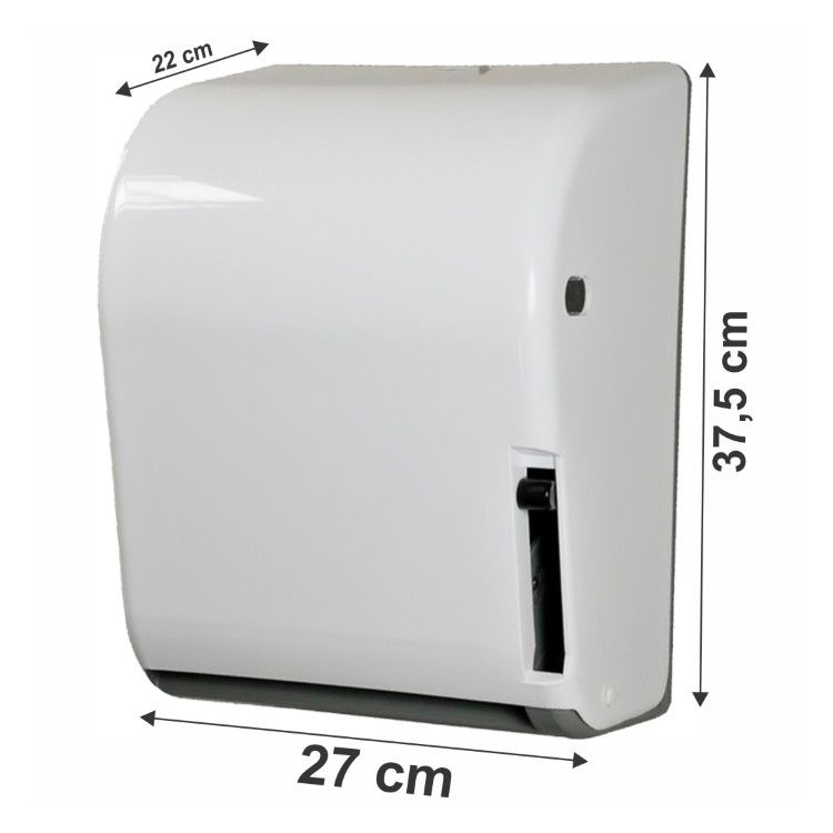 TOALHEIRO ABS BOBINAS DE 20 CM X 100/200 M COM ALAVANCA N17 JSN