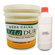 Retadur Veda-calha- Uma Resina P/ Vedar Calhas