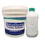 Revestimento Acústico P/ Telhas Retatherm 1 Unidade 3,350kg