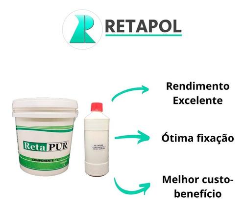 Cola Em Poliuretano Para Grama Sintética Retapur - 1 Balde