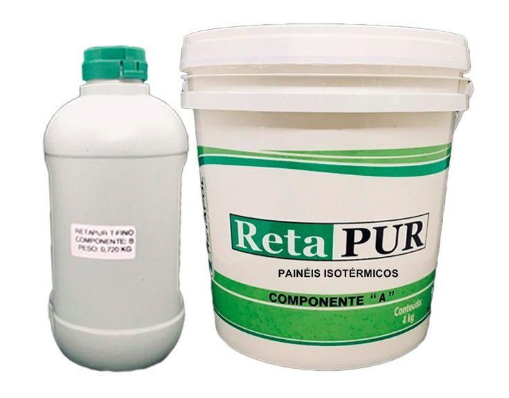 Cola em Poliuretano para Painéis / Isopor / Placas / Câmara Frigorífica 4,720 Kg