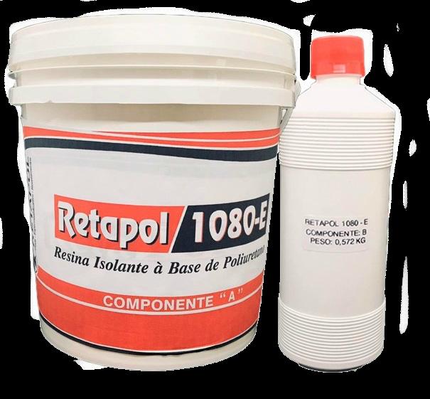 Resina Isolante Elétrica para Circuitos / Muflas / Condensadores / Transformadores / Sistemas de proteção 1 Kg