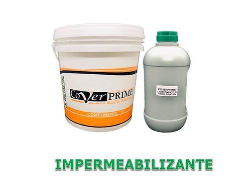 Kit Impermeabilização Para Concreto 6,350 Kg + Espátula