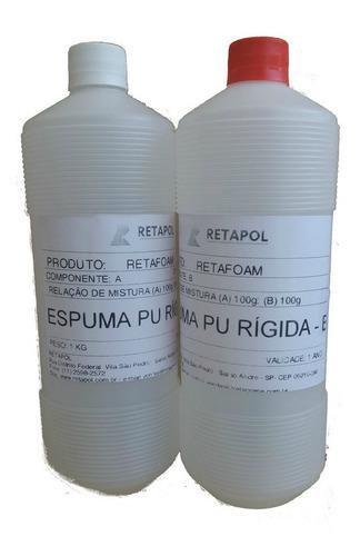 Poliuretano Líquido P/ Expansão Kit C/ 2kg ( A+ B) Retafoam