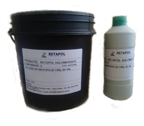 Resina Aglutinante Para Piso De Borracha- Kit Com 3kg