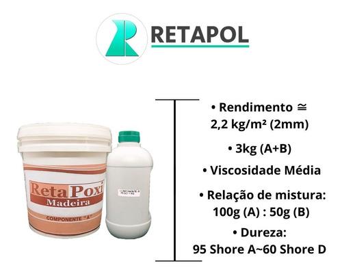 Resina Para Revestir Bancada 3 Kg - 1 Unidade