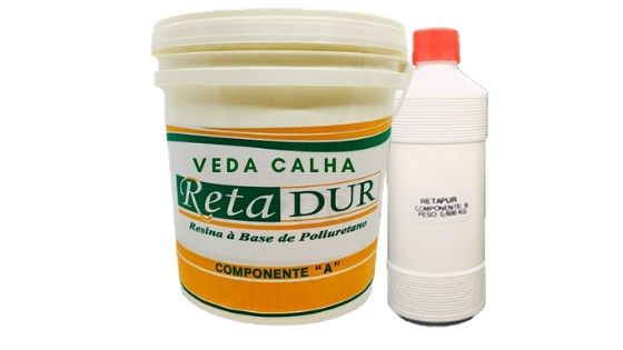 Retadur Veda-Calha / Sela / Impermeabiliza 4,720kg