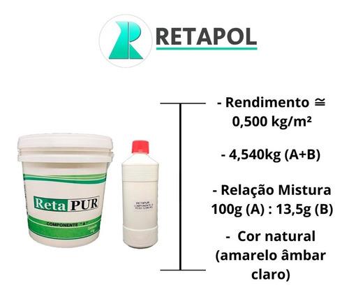 Retapur Cola Poliuretano Para Borracha Pisos Cerâmica Etc