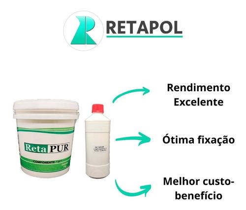 Retapur Kit Selante P/ Piso Emborrachado - 16 Unidades