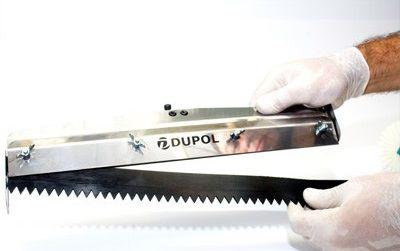 Rodo Dentado 40 cm Alumínio Reforçado + Lâmina Dentada 40 cm Borracha