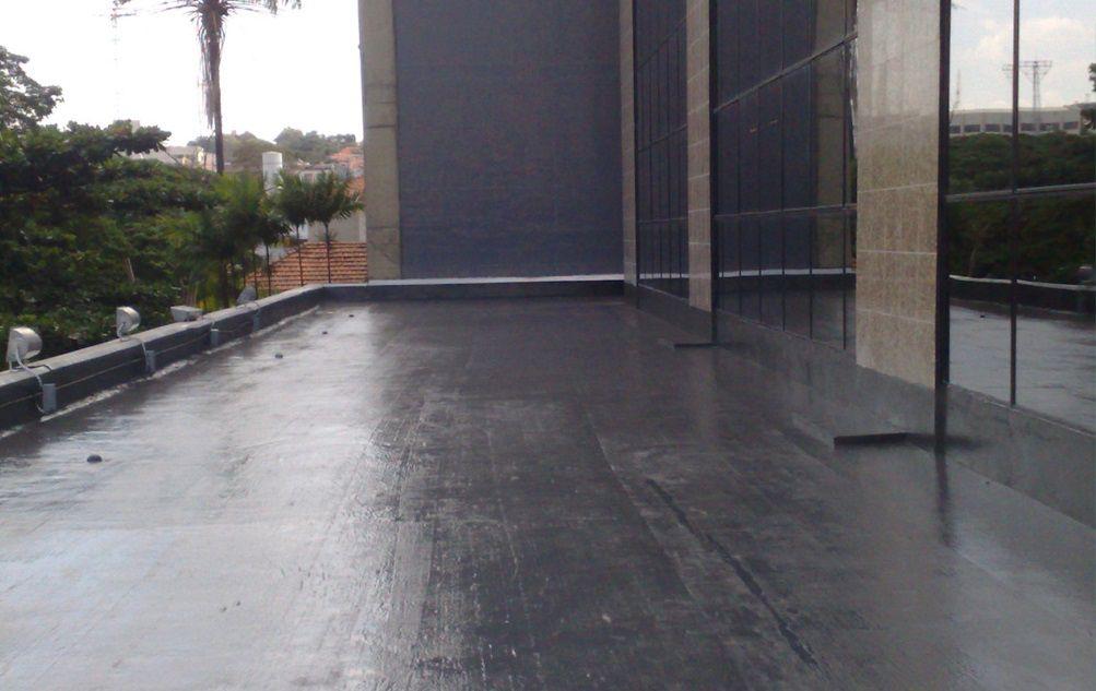 Sistema de Impermeabilização para 5m² de Laje - Alto Tráfego