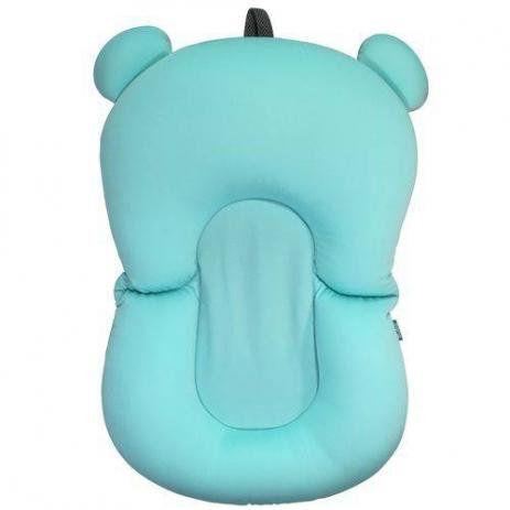 Almofada Para Banho Banheira Baby Buba Azul