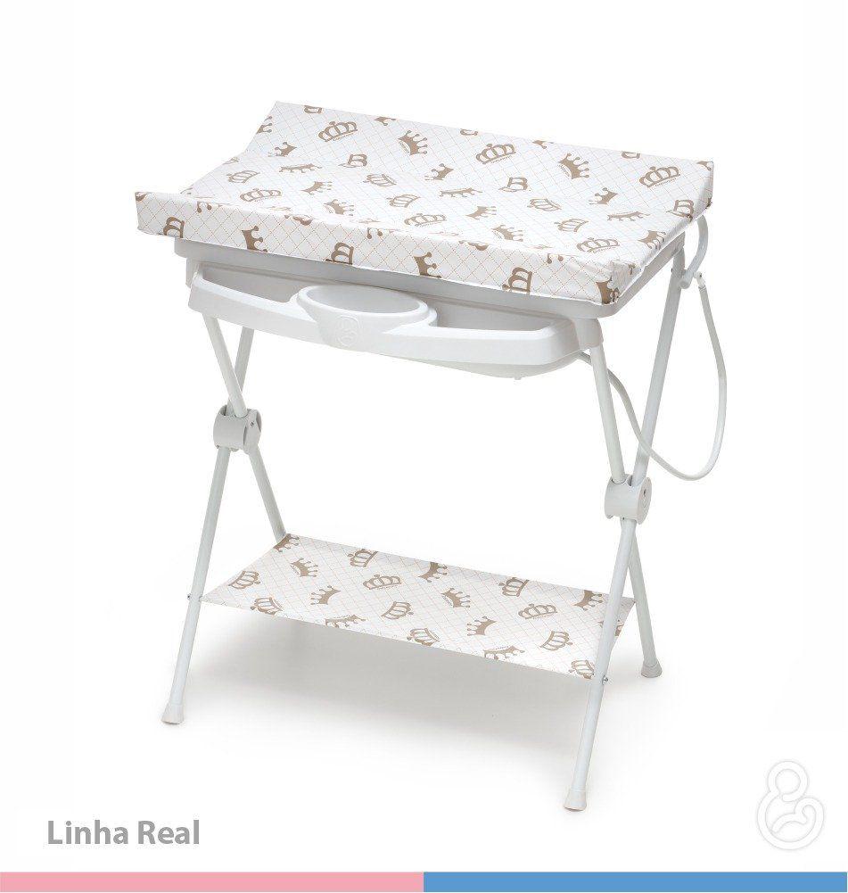 Banheira de Bebê Plástica Luxo Galzerando Real 7015RL