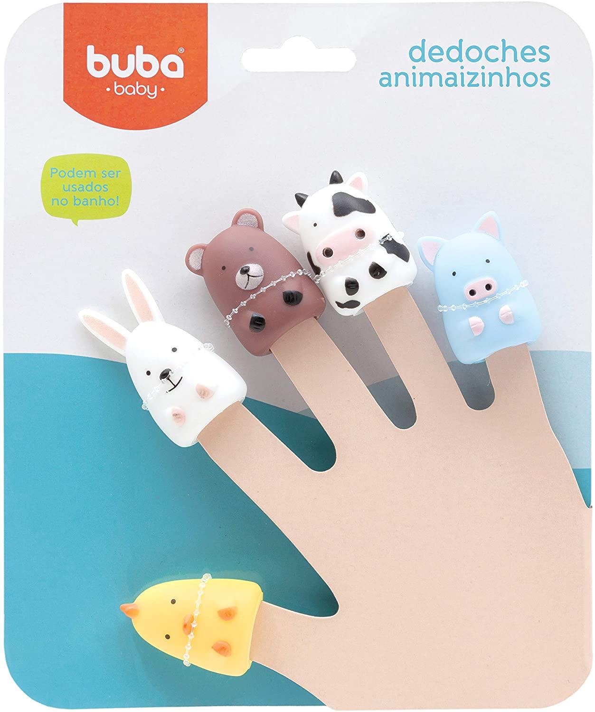 Dedoches Divertidos Animaizinhos (3+) - Buba Buba